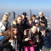 Auf dem Main-Tower in Frankfurt