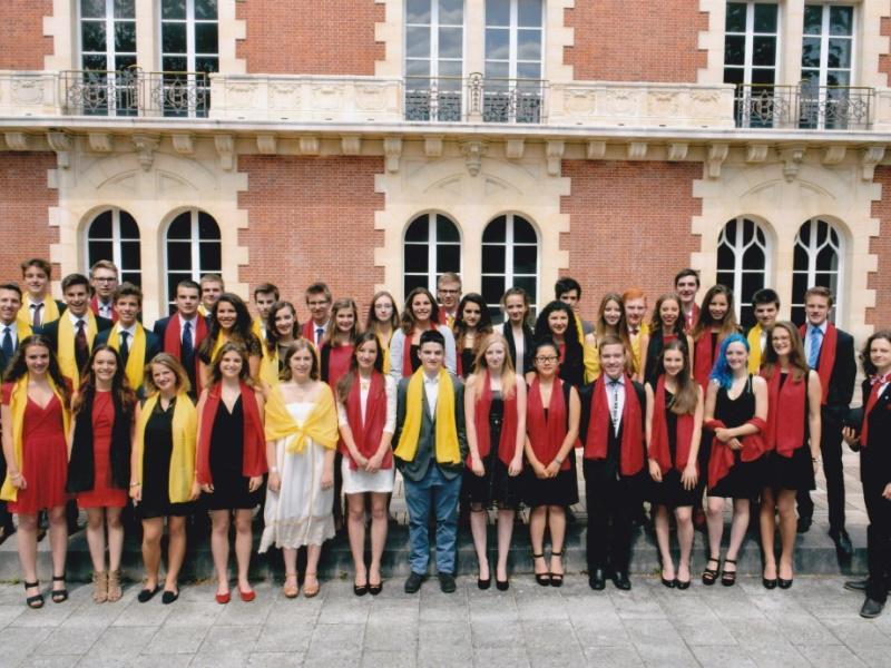 Abiturienten Deutsche Abteilung Deutsche Schule Paris Auslandsschule