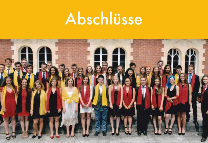 Abschlüsse Deutsche Abteilung Deutsche Schule Paris