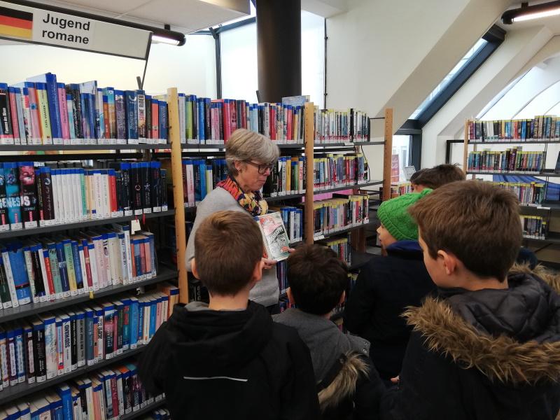 Bibliothek Bücherei Deutsche Abteilung Deutsche Schule Paris Auslandsschule