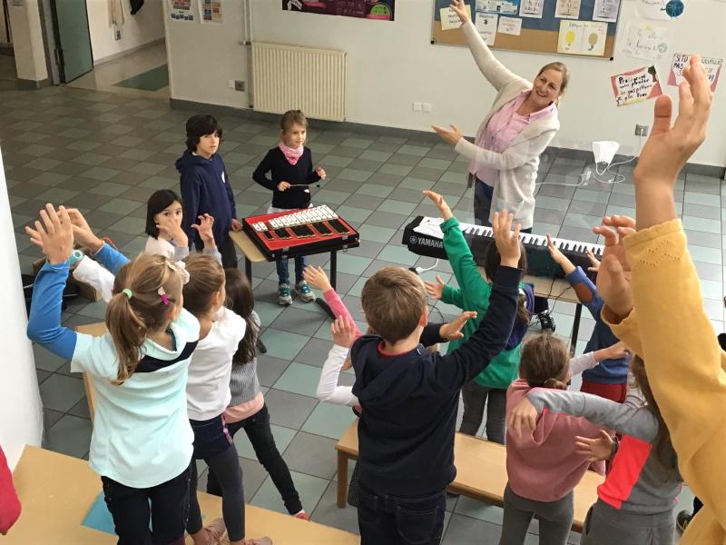 Grundschulchor Deutsche Abteilung Grundschule
