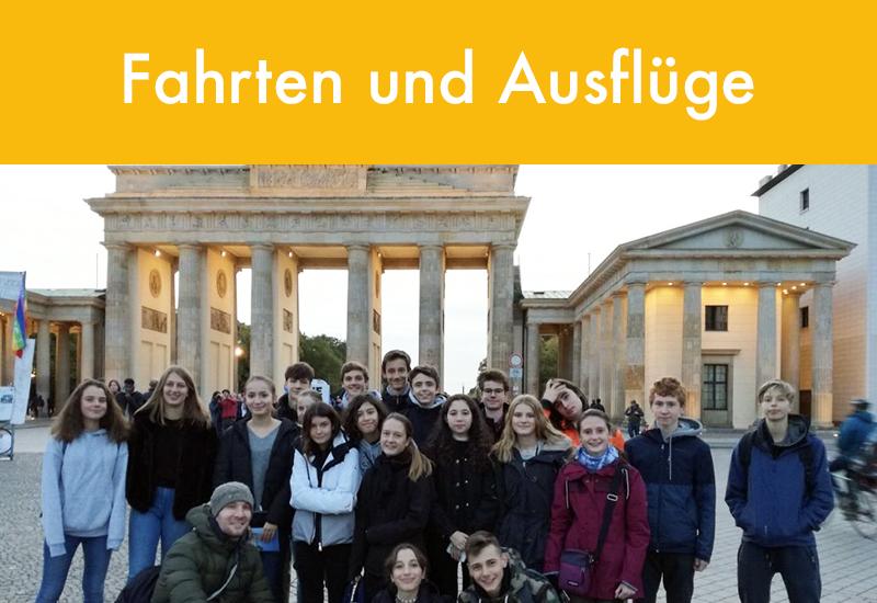 Fahrten und Ausflüge Klassenfahrten Deutsche Abteilung Deutsche Schule Paris Auslandsschule