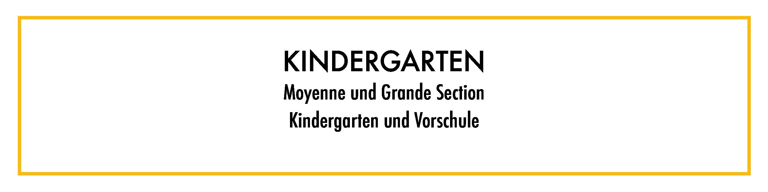 Kindergarten Deutsche Abteilung Deutsche Schule Paris
