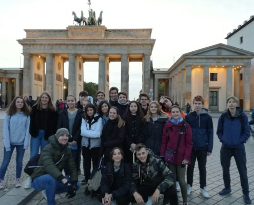 Berlin Klassenreise Deutsche Abteilung
